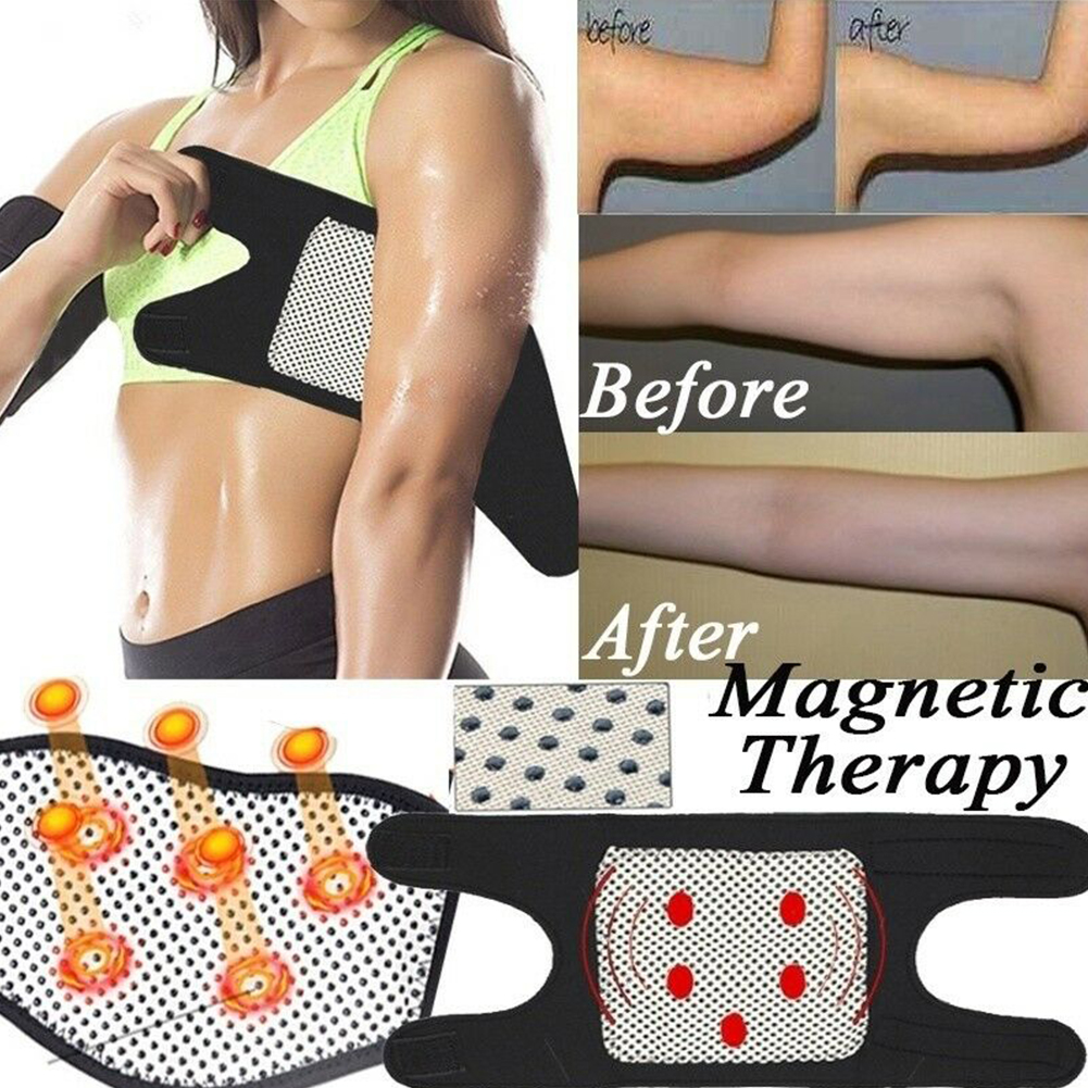 1 Pair Belt Elderly Arm Care Clear Meridians Support Pain Relief Heated Elbow Winter Magnetic Therapy Brace Home Health Elastic