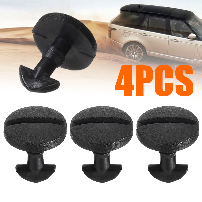 4 Pcs Rear Bumper Tow Cover Clip Towing Eye Trim For Land Rover Discovery 3 4