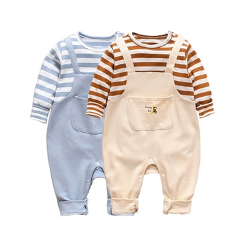 Spring Autumn Newborn Rompers Baby Clothes For Girls Boys Long Clothing Boy Kids Outfits