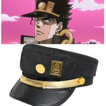 JOJO Cap Hat Badge Jotaro-Hat Adventure Joseph Anime Army Military Kujo Bizarre Around