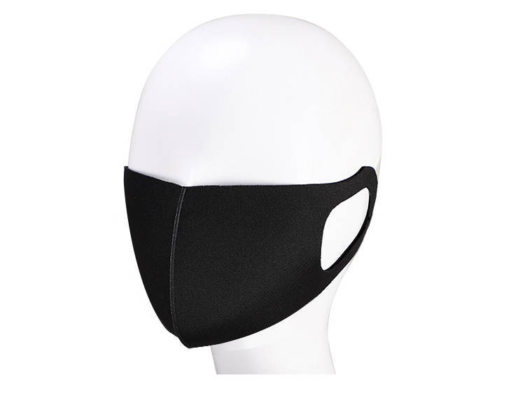 H32e57f3a453e497086987d39b2ddb413F 3D MASK Pm2.5 Face Masks Black Facemask Mouthmask Anti-Virus Anti-pollution Dust Antivirus Mask In stock can be shipped quickly