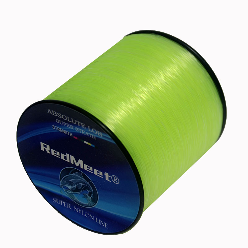 RedMeet New 500M 1000M Nylon Fishing Line Super Strong Monofilament 4.4-28.6LB Quality Japanese Material Saltwater Carp Fishing