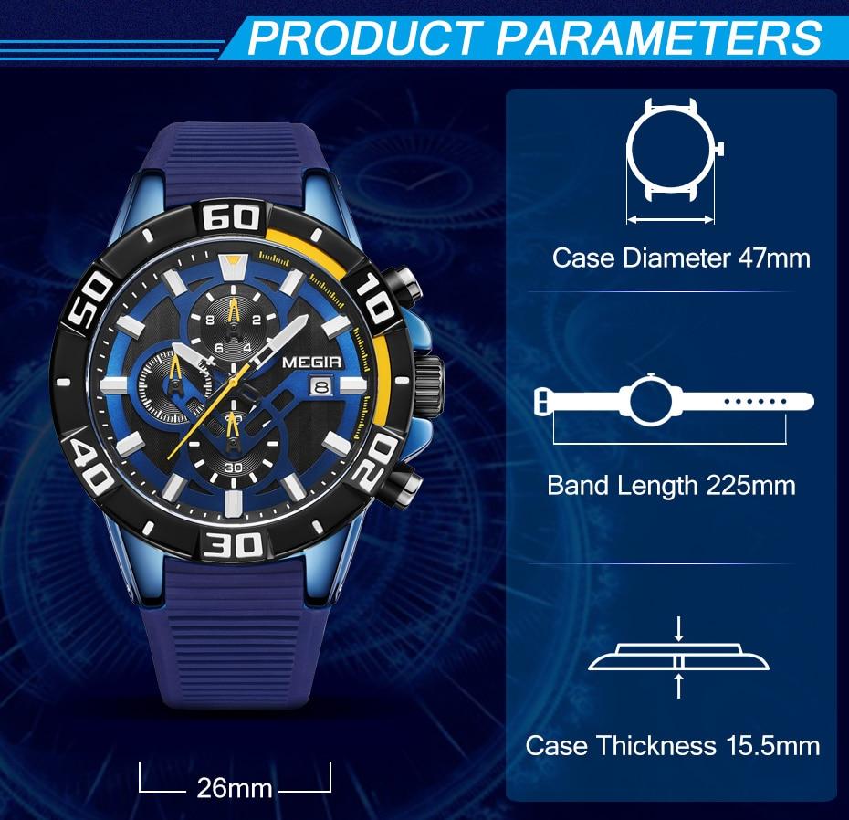 H32e5d2e0f3b44c62a9f9defc309cf630t Sport Watch Silicone Quartz Military Watches