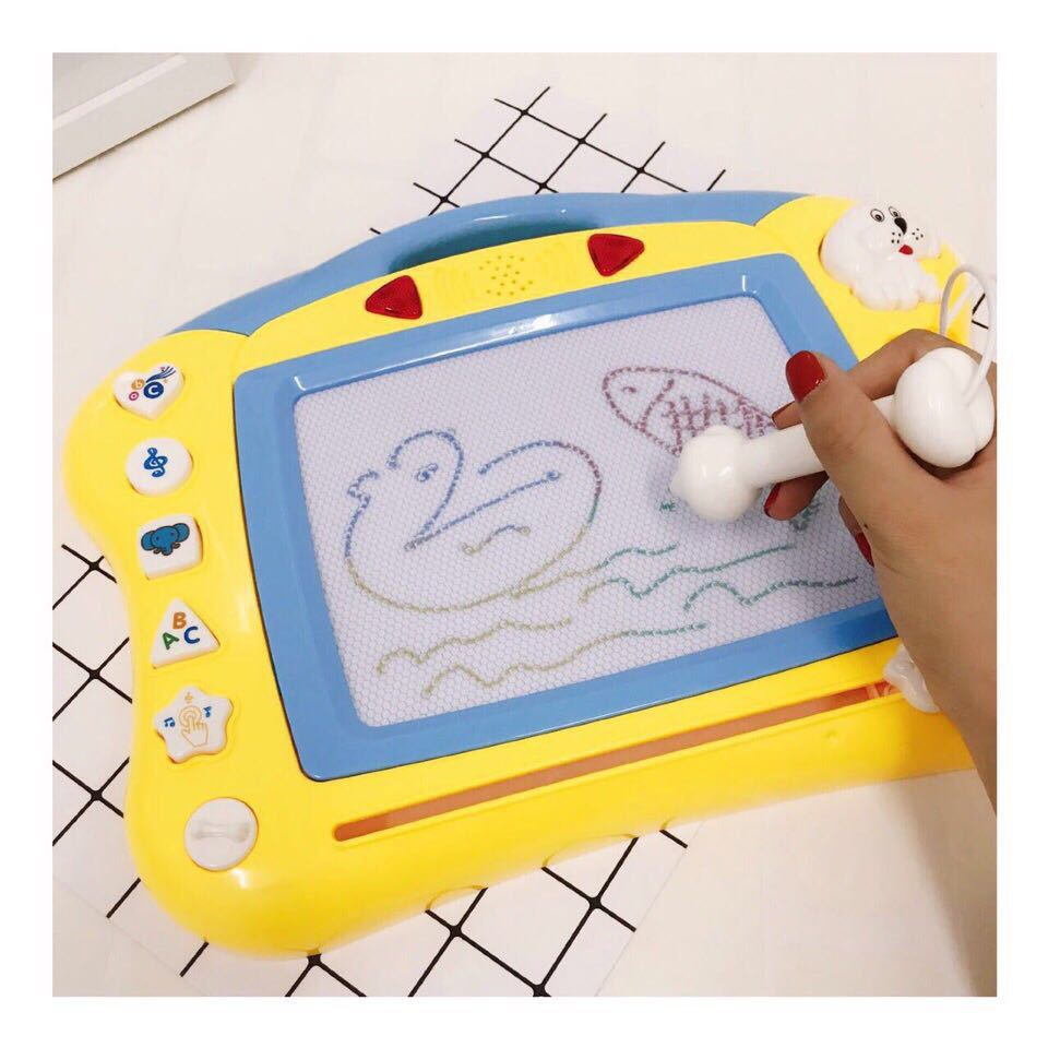 Kindergarten Large Size Color Multi-functional Magnetic Drawing Board Plastic Cartoon WordPad Graffiti Children Multi-functional