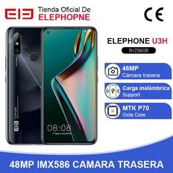 В наличии ELEPHONE U3H Helio P70 восьмиядерный смартфон 8 Гб 256 ГБ 6,53 дюймFHD + экран 48 МП Две задние камеры Беспроводная зарядка NFC