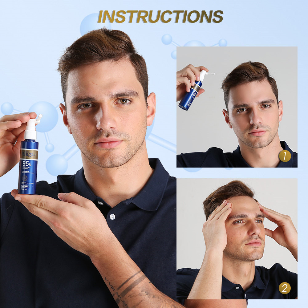 HairGrowth Essence OilAntiHairLoss Treatment forBeardGrowth OilRepair Damage Hair RootsHair CareProducts Hair Tonic 1