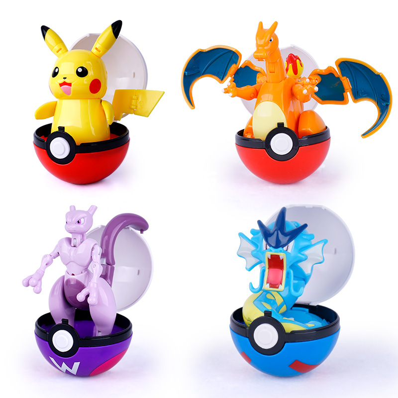 Pokemon Variant toys Model Pikachu Jenny Turtle Pocket Monsters Pokemon toys Action Figure toy Christmas halloween gift 1