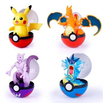 Pokemon Variant toys Model Pikachu Jenny Turtle Pocket Monsters Pokemon toys Action Figure toy Christmas halloween gift 1