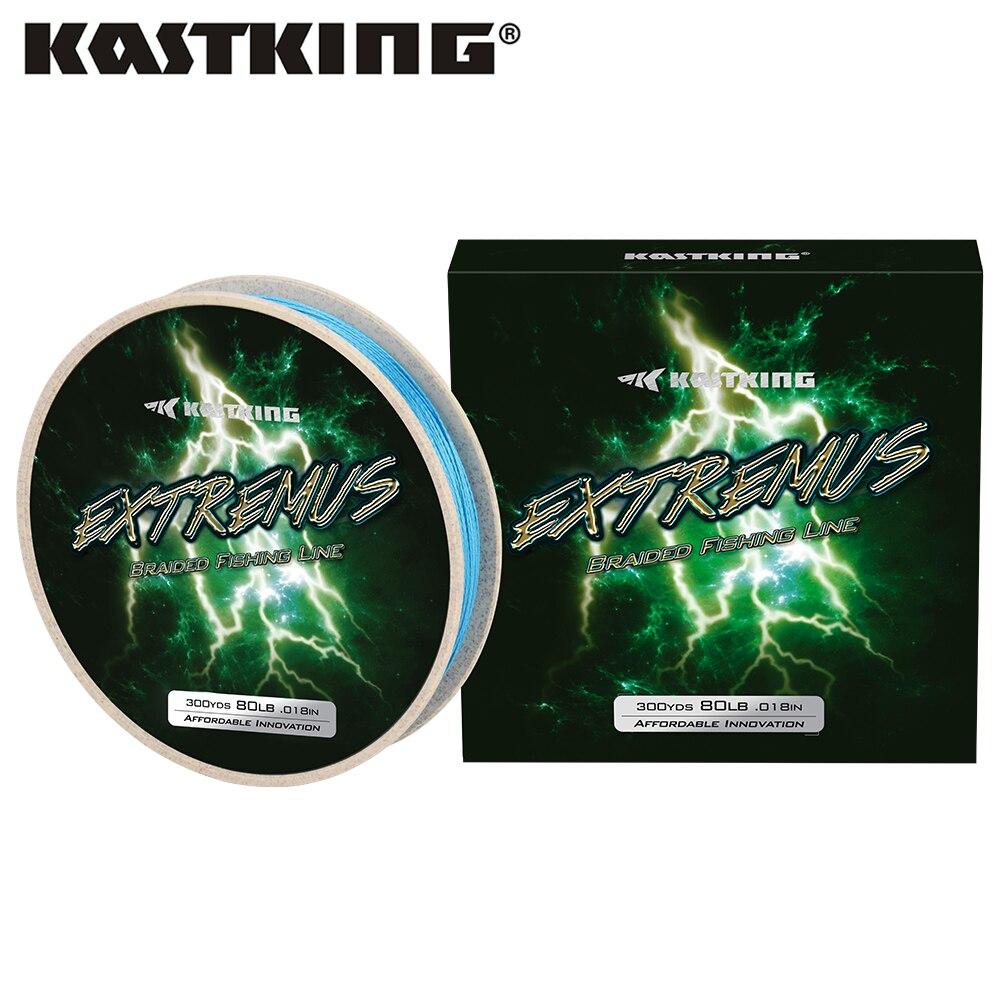 KastKing Extremus 274m 549m güçlü örgülü olta 4 örgü tel 6-80LB 0.1mm-0.45mm çok tuf Fiber PE düğüm gücü