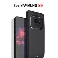 삼성 갤럭시 s9 s9 플러스 배터리 충전기 케이스 전원 은행 배터리 케이스 4700 mah/5200 mah 배터리 박스 케이스