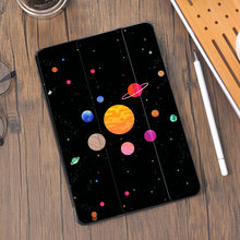 Space Dream for Air 4 iPad Pro 12.9 Case With Pencil Holder 10.2 8th 2020 7th Mini 5 Air 2 Cover Silicone Pro 11 10.5 Air 3