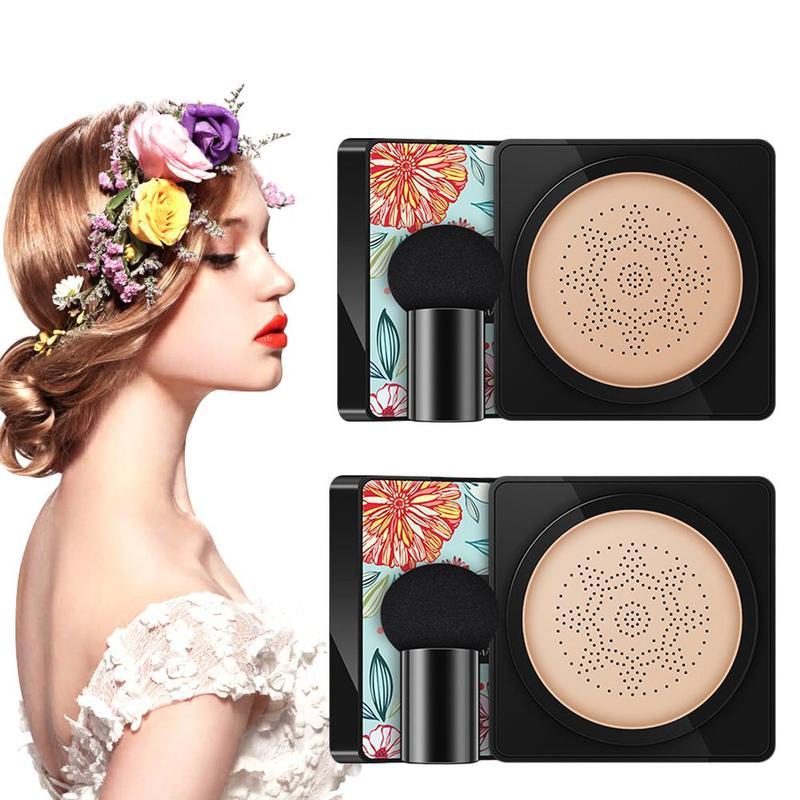 BB Air Cushion Foundation Mushroom Head CC Cream Moisturizing Whitening Concealer Sunscreen Oil Control Brightening Makeup