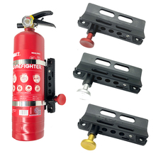 Fire Extinguisher Mount Bracket Adjustable Fit for Jeep Wrangler Sport/ JK/ Sahara Universal Car Accessories