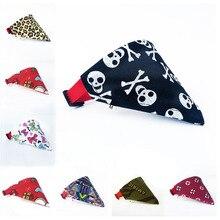 16 цветов, бандана для кошек, собак, нагрудники, шарф, воротник, регулируемый шейный платок для домашних животных, шарф, водонепроницаемый слюнявчик, полотенце для маленьких, средних и больших собак
