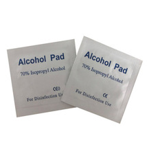 New 100Pcs/Lot Portable 100pcs/Box Alcohol Swabs Pads Wipes Antiseptic Cleanser Cleaning Sterilization First Aid Home Makeup