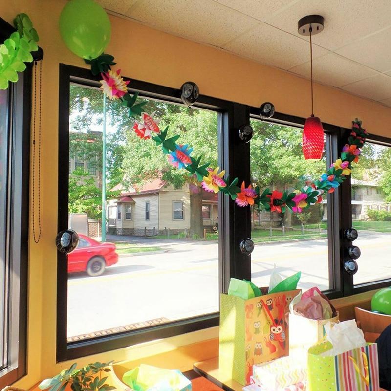 Тропические листья баннер цветок Гирлянда бумага флаг день рождения ребенка душ Гавайская Летняя Вечеринка Декор