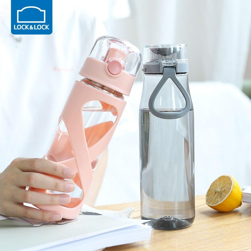 500/750 мл бутылки для воды, стеклянная бутылка, прозрачная бутылка для воды, для путешествий, для студентов, школьников, детей, бутылка для горя... - 6