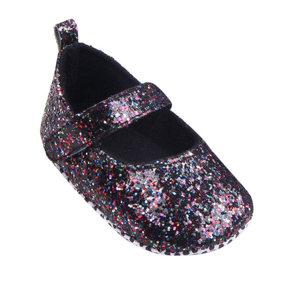 Shoes Toddler First-Walker Soft-Sole Infant Baby-Girls Sequins Hot-Sale