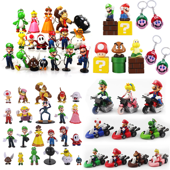 Figuras de acción de Super Mario Bros, juguetes de PVC de la...