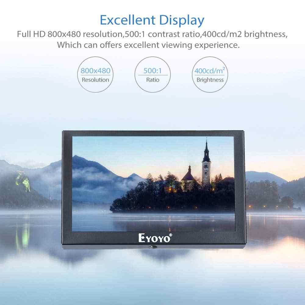 """Eyoyo S501H Ips Mini Tv Computer Monitor 5.5 """"1024X768 Hdmi Vga Bnc Av Usb Lcd-scherm Met Afstandsbediening voor Pc Cctv Security"""