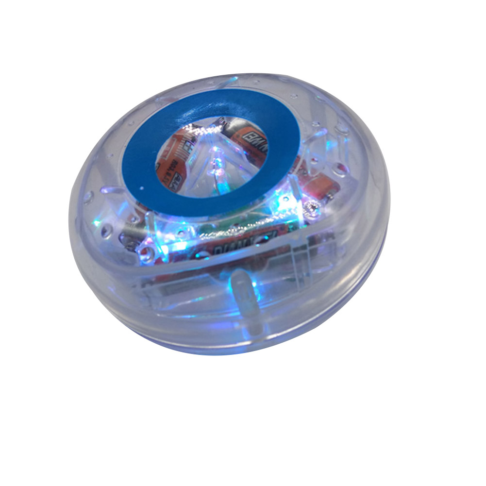 Newest Light-up Colorful Water Safe Bathing Toy Floating Durable Bathtub Light Toy For Baby Kids Low Season Big Sale-KK
