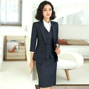 Ladies Office Formal Skirt-Suits