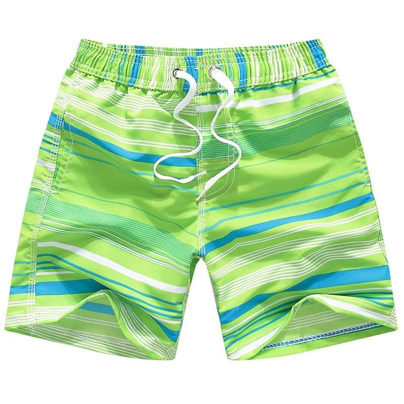 Boys' Swimming Stripe-Style Trunks