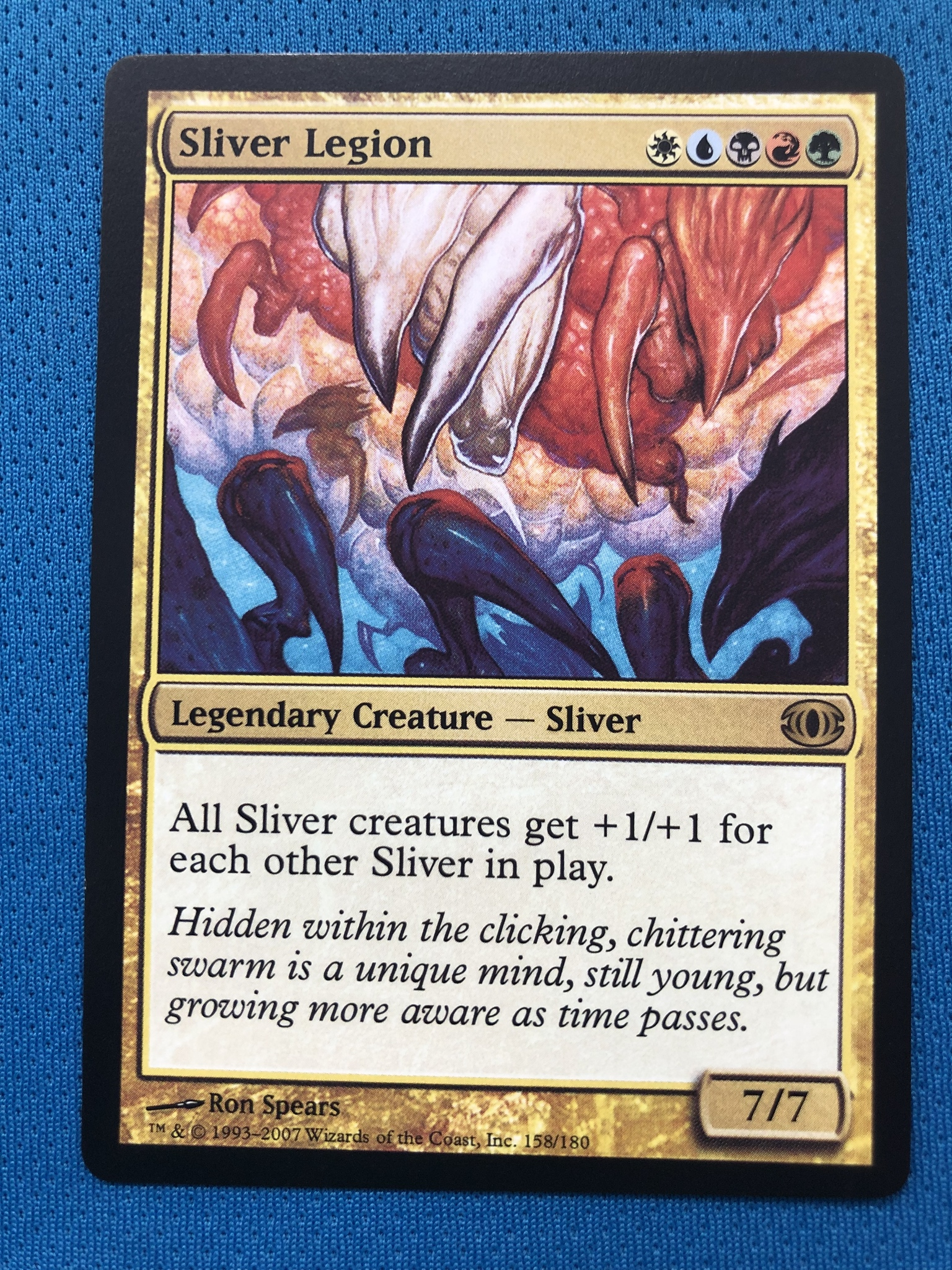 Sliver Legion Magician ProxyKing 8.0 VIP The Proxy Cards To Gathering Every Single Mg Card.