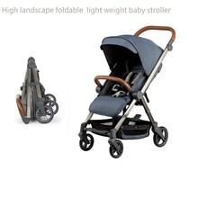 Newborn portable foldable light weight baby buggy,kinderwagen baby stroller,portable pushchair,pram,baby carriage