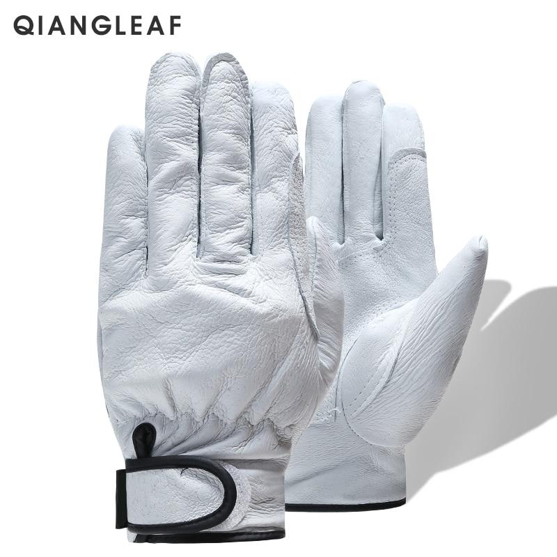 QIANGLEAF Brand Plus Cotton Warm Safety Working Gloves High Quality Mechanic Autumn Winter Mechanism Work Gloves For Workers H73work glovesmechanic work glovessafety work gloves -