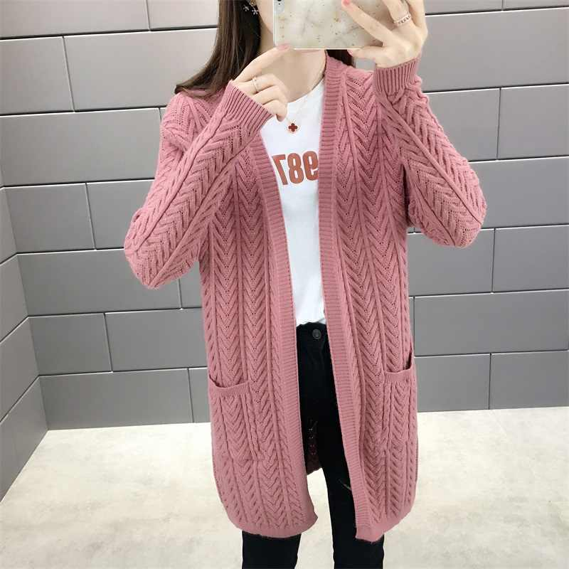 Women Sweater Batwing Long Sleeve Knitted Cardigan Coat Open Stitch Knit Sweater Jacket Autumn Women Clothes Poncho Feminino