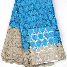 Lace-Fabric Embroidery Guipure High-Quality African for Apparel-Sewing Water-Soluble