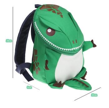 3D Dinosaur Backpack For Boys Girls Children waterproof backpacks kids kindergarten Small School Bag Girls Animal School Bags 4