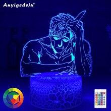 Lampada acrilica 3d che uccide Stalking luce di Sangwoo per la decorazione della camera da letto luce notturna a Led Anime uccisione Stalking regalo BL trasporto di goccia