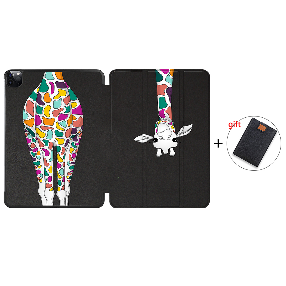 IP11 Gold MTT 2020 Case For iPad Pro 12 9 inch A2229 A2233 Magnetic PU Leather Flip Stand