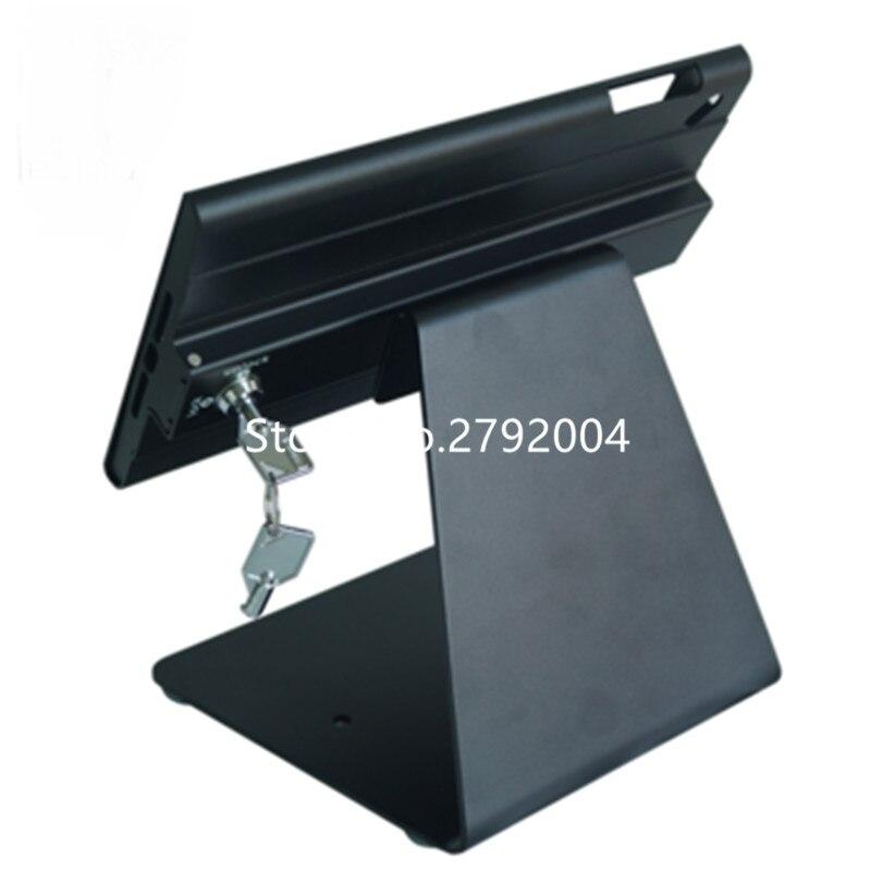 metal frame for ipad mini locks and keys tablet mounting bracket  for Ipad mini 1/2/3/4