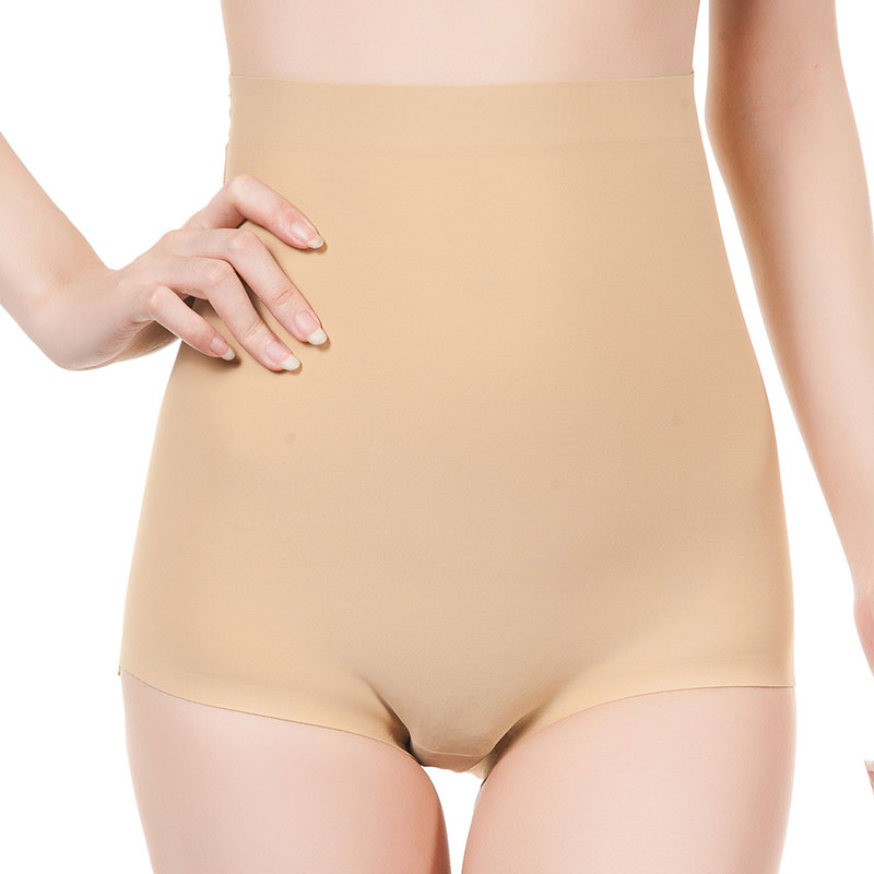 One-piece Seamless Body Shaping Boxer Hips Plus Padded Fake Buttocks Tightening Abdomen Body Shaping Ladies High Waist Panties