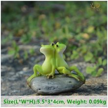 Everyday Collection Animal Frog Fairy Garden Figurines Miniature Landscape Home Decoration Accessories Birthday Gift Souvenirs