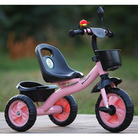 Children's Tricycle Bikes1 5 Years Old Portable Bicycle for Children Outdoor Sports for Kids Activity Gear Baby Bicycle