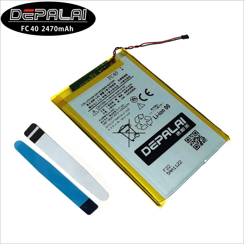 FC40 2315mAh Batterie De Téléphone Portable Pour Motorola Moto G 3rd G3 XT1540 XT1541 XT1543 XT1548 XT1550 XT1557 Batterie De Remplacement