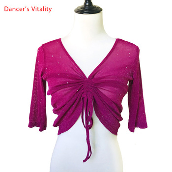 Belly Dance Tops New Sexy Oriental Clothes Summer Practice Beginners Clothing - discount item  30% OFF Stage & Dance Wear