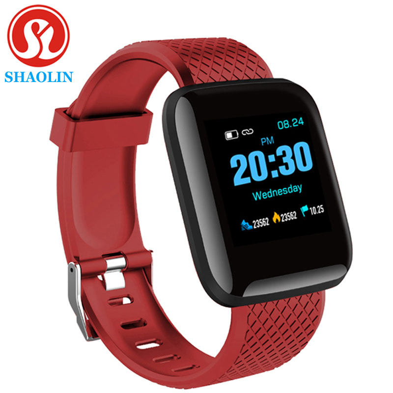 Smart Watch Color Screen Heart Rate Blood Pressure Monitoring Track Movement Smart Band Bracelet for Android Apple Watch PK IWO