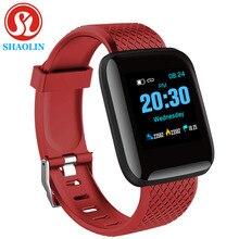 Smart Horloge Kleur Screen Hartslag Bloeddruk Monitoring Track Beweging Smart Band Armband Voor Android Apple Horloge Pk Iwo