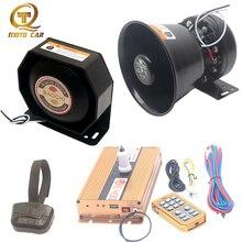 Wireless vehicle Siren tone Megaphone 12V For car alarm horn AUTO Police 400W Loudspeaker ambulance PA MIC system Train