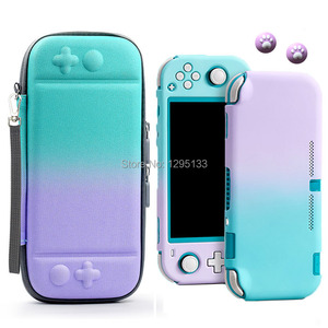Image 2 - Portable Hard Shell Case for Nintend Switch Lite Carrying Storage Bag for NS Switch Mini Console Game Accessories