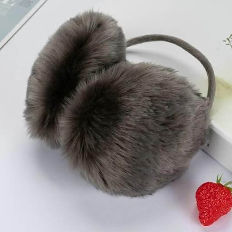 One Piece Women Winter Warm Fluffy Earmuffs U Pick Solid Soft Plush Earmuffs Ear Ear Muffs Earlap Warm Ear Muffs Keep Ear Warm