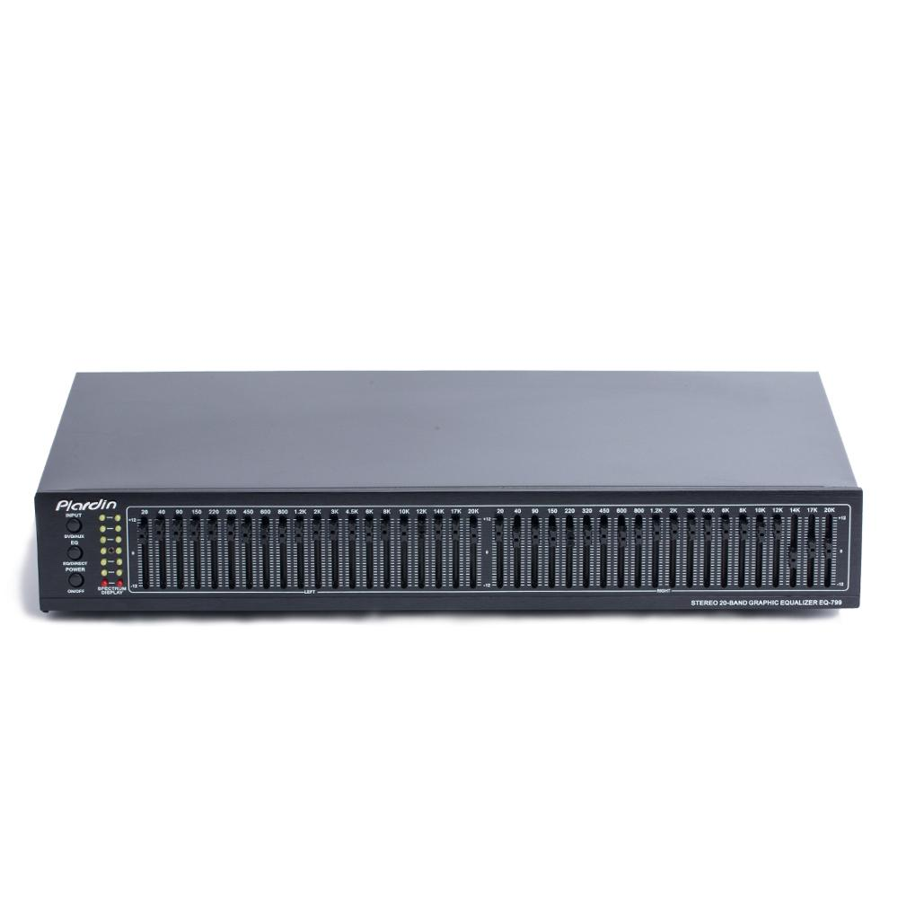 Dual 20-band Stereo High-end Bass Equalizer Hifi Fever Home 40-band EQ Tuner Suitable For Amplifier