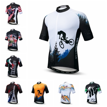 2019 Weimostar Cycling Jersey men Bike mountain road MTB bicycle shirt Ropa Ciclismo maillot Racing cycle top riding blouse blue weimostar skull cycling jersey men pirate bicycle clothing maillot ciclismo pro team mtb bike jersey cycling shirt ropa ciclismo