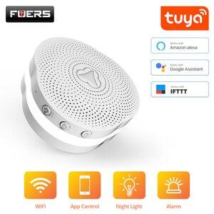 Image 1 - Fuers WiFi Gateway מעורר מערכת Tuya APP בקרת אינטליגנטי לילה אור חכם אבטחת בית מערכת פעמון חכם