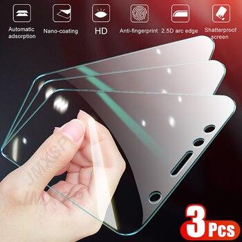 Перейти на Алиэкспресс и купить Защитное стекло, закаленное стекло для Huawei Honor 7A 7C 7X 7S 9X 9A 9C 9S 8X 8A 8S, 3 шт.